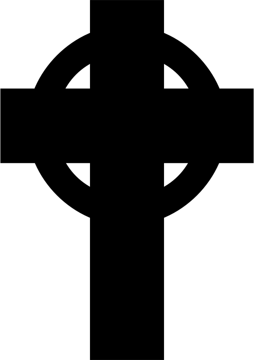 Clipart cross silhouette. Simple celtic medium image