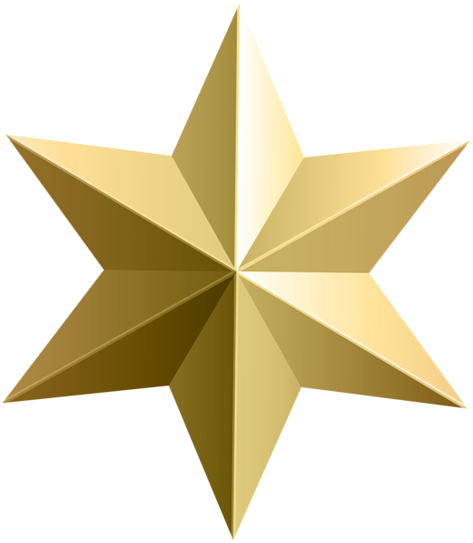 Glitter clipart fancy star. Gold transparent png clip