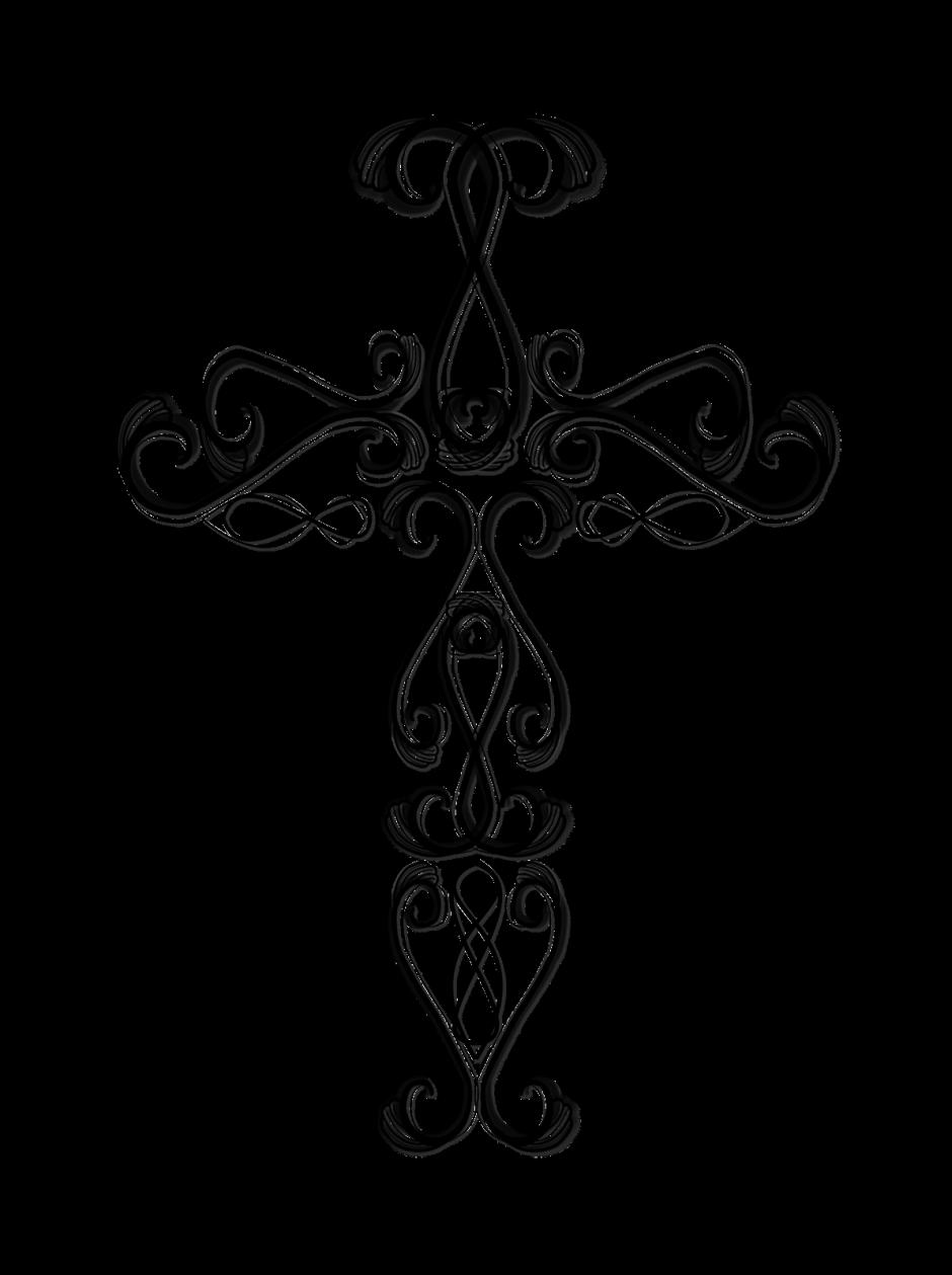 Crosses drawing at getdrawings. Vines clipart cross