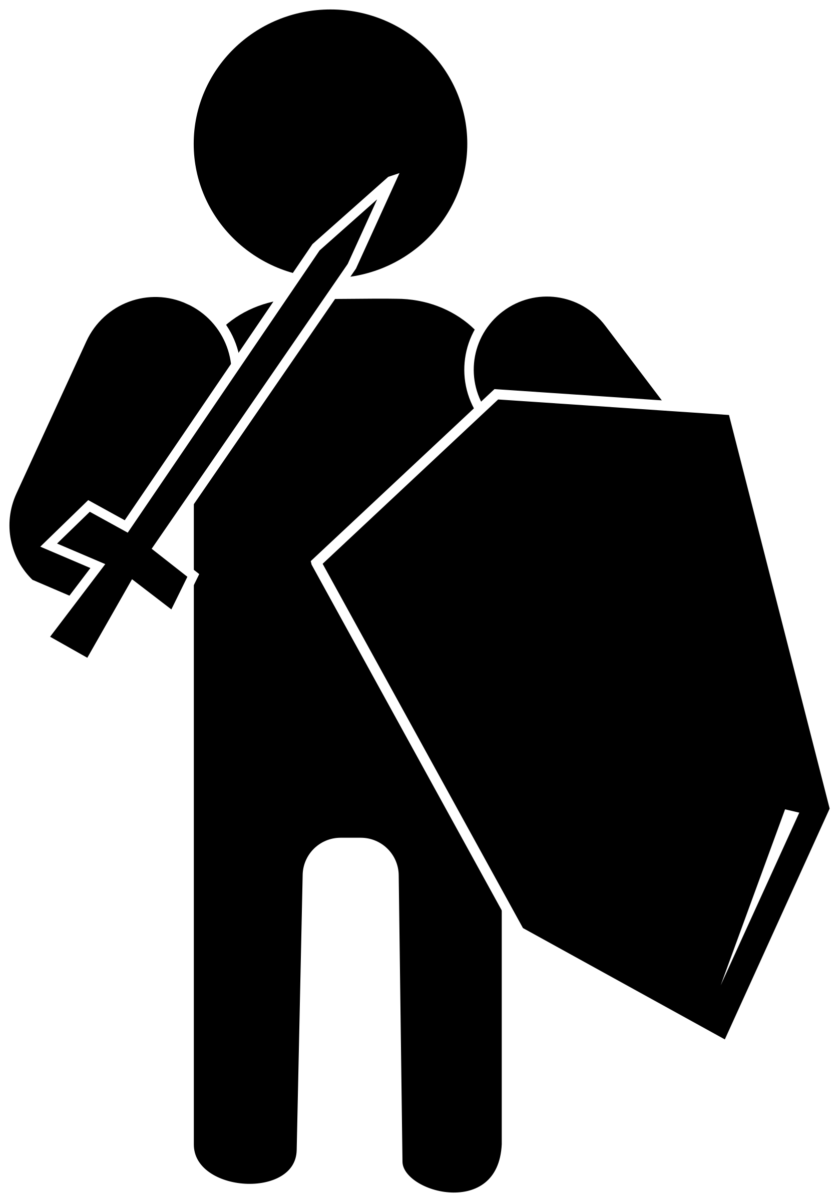 Soldier big image png. Clipart shield silhouette