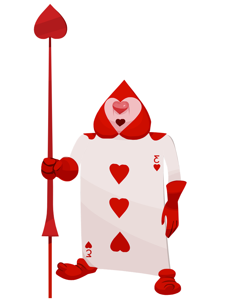 Soldier google search punch. Queen of hearts card png