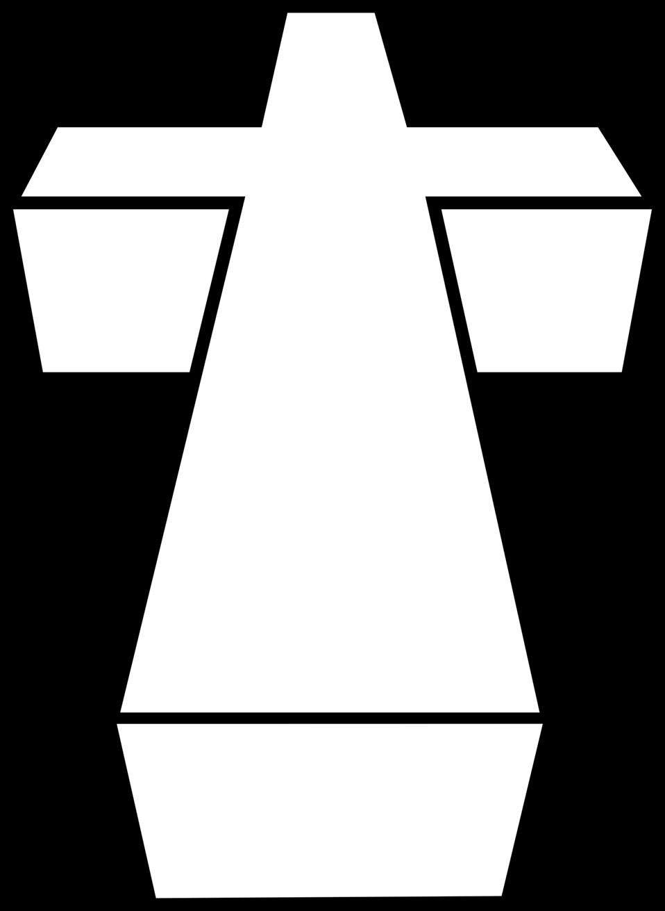 crucifix clipart brown