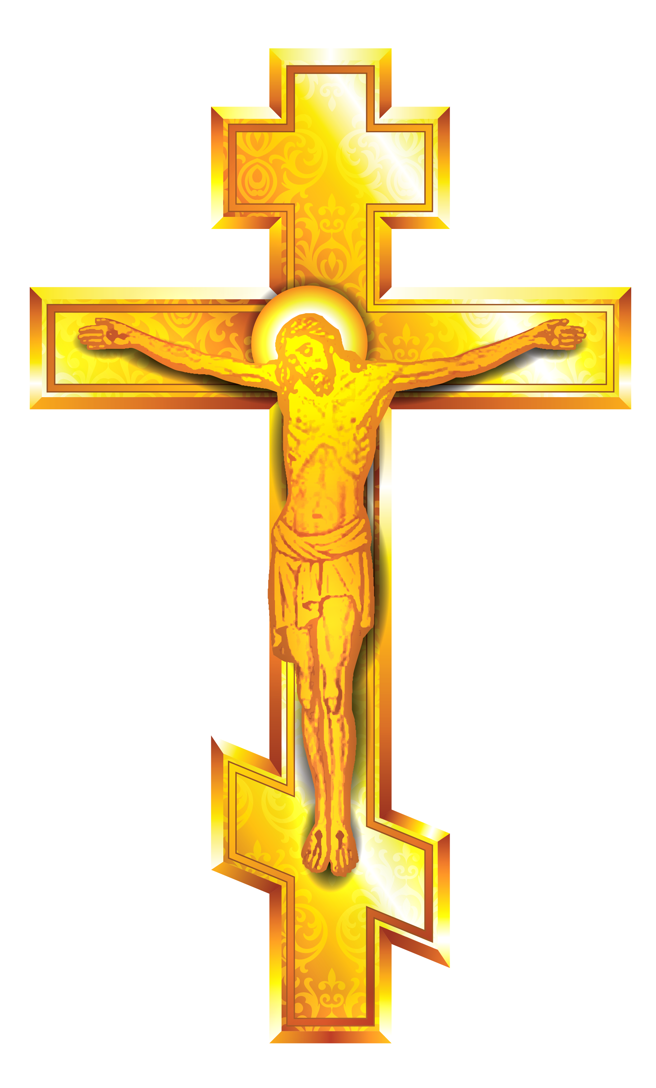 Gold png gallery yopriceville. Clipart cross transparent background