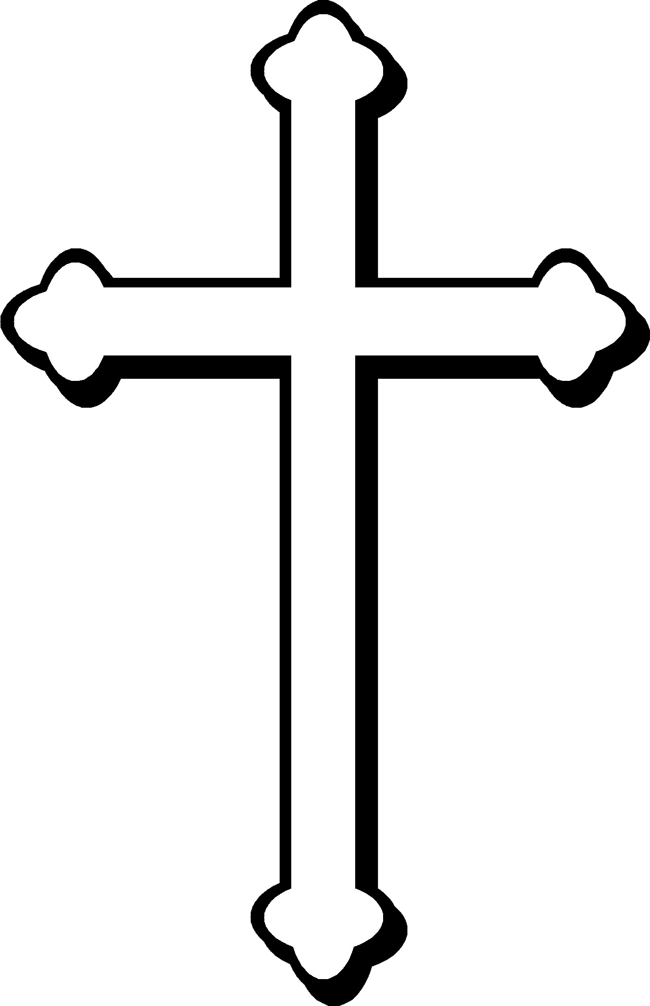 Crucifix clipart christianity. Christian cross png image