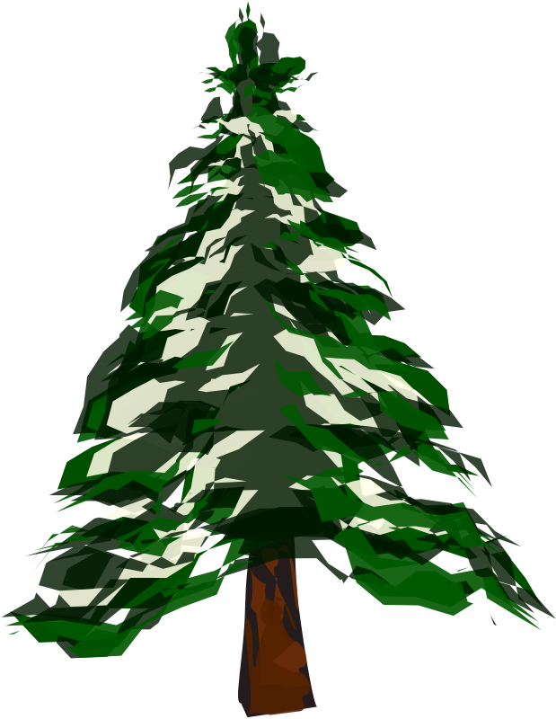 Pine trees panda free. Clipart exercise winter