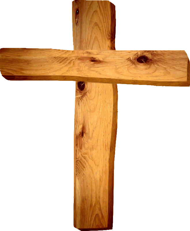 Old rugged medium image. Clipart cross wooden cross