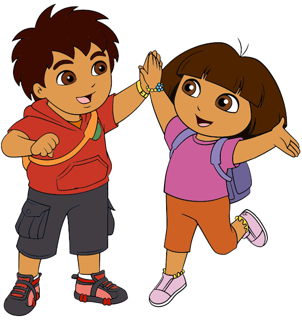 Clipart face dora. The explorer clip art