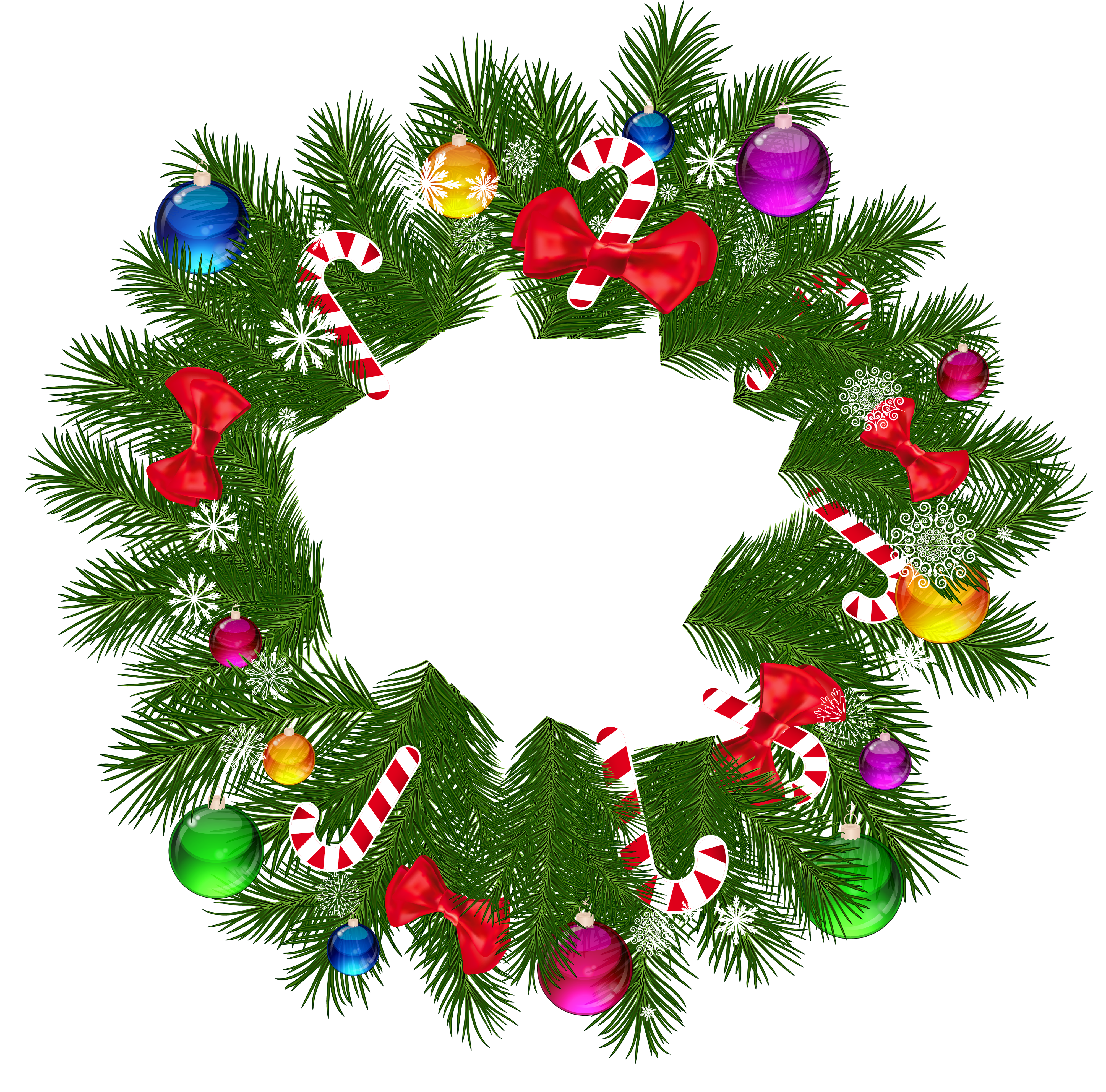 collection of christmas. Free clipart wreath