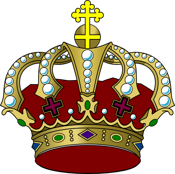 Crown clipart colorful. Clip art at clker