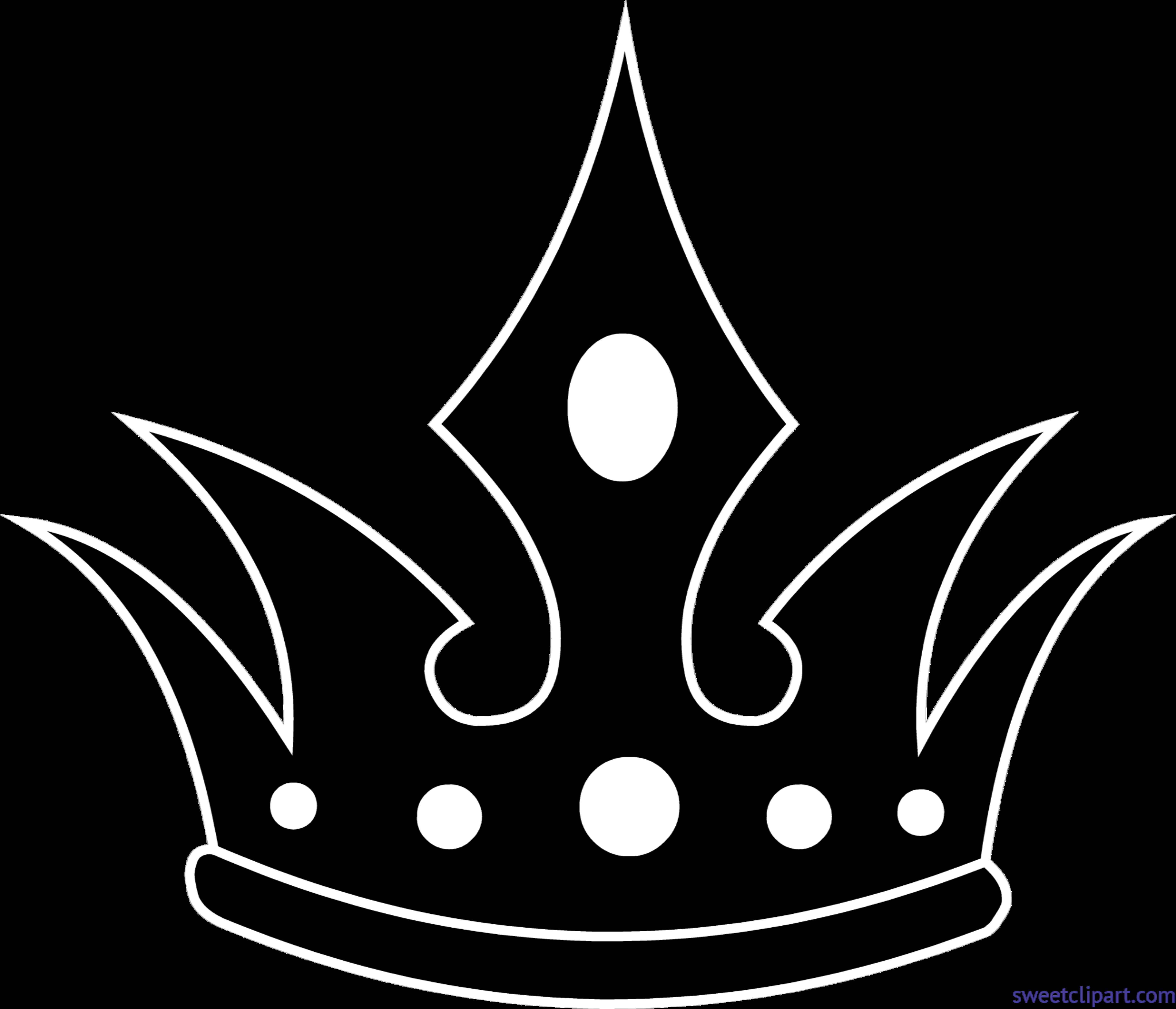 Clipart door fantasy. Crown silhouette clip art