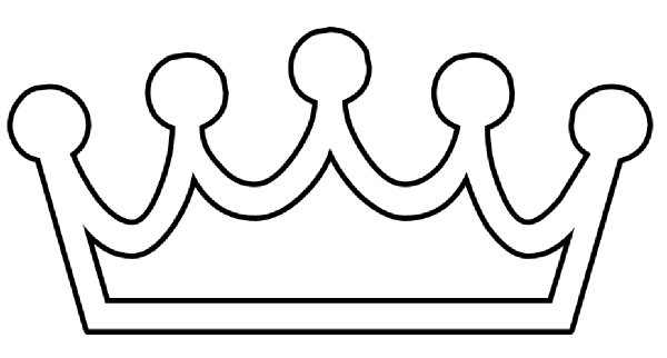 Free king crown drawing. Queen clipart simple