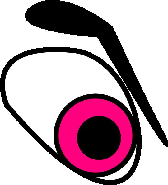 Eyeball clipart colorful eye. Evil king panda free