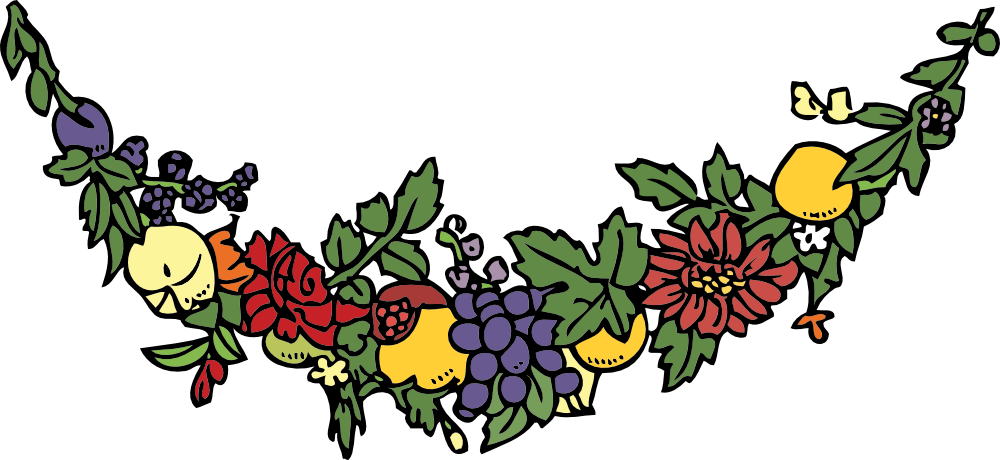 Onlinelabels clip art flower. Crown clipart fruit