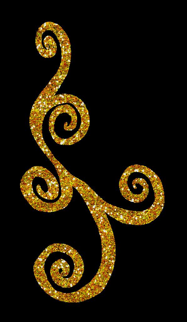 glitter clipart gold glitter line