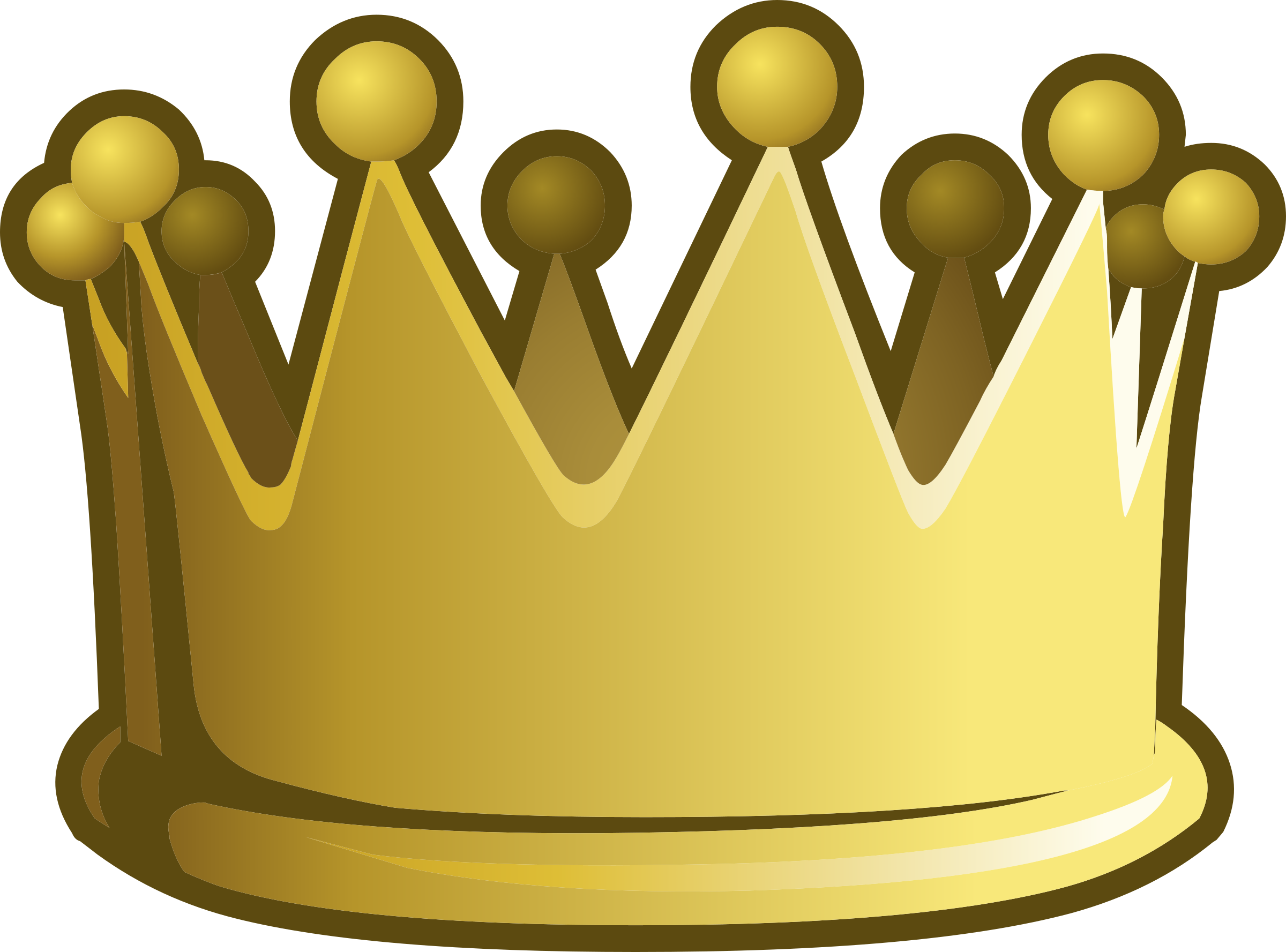 Misc crown big image. Game clipart number game
