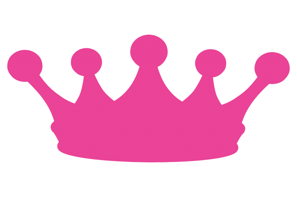 collection of crown. Number 1 clipart princess