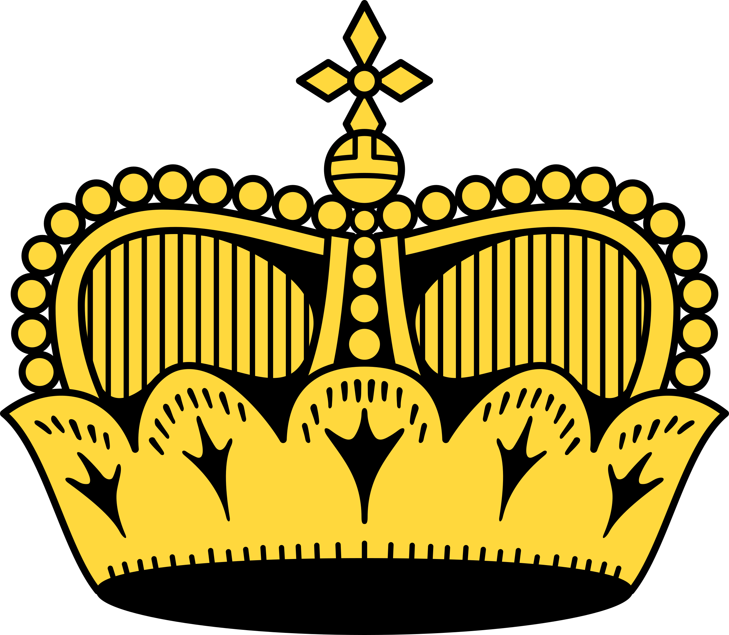 Big image png. Wing clipart crown