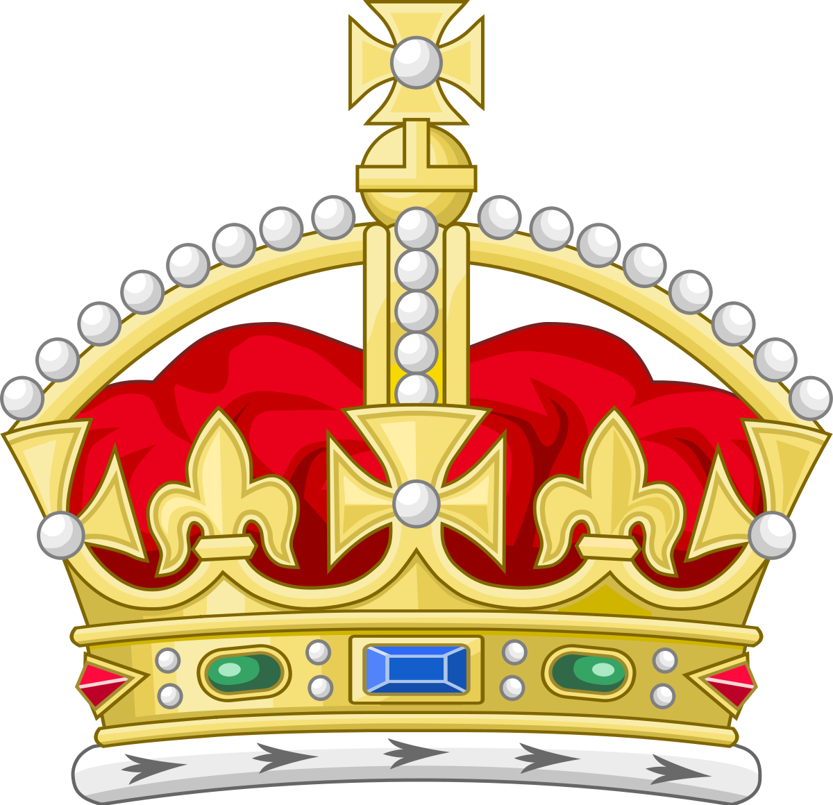Tudor crown heraldry wikipedia. King clipart mean