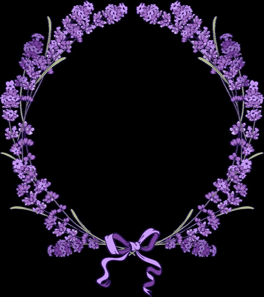 Frame clipart lavender. Floral vintage background with