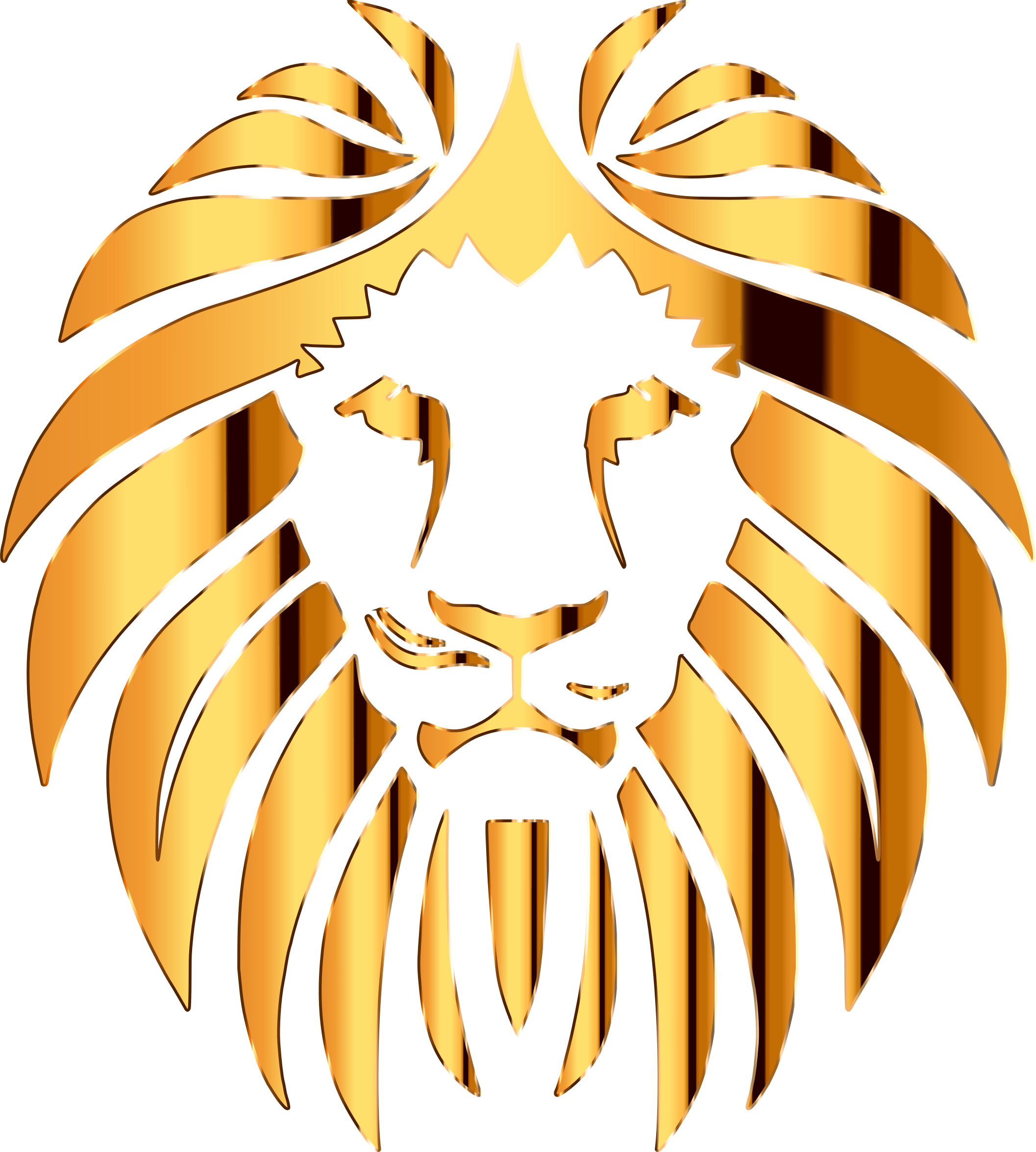 collection of high. Lions clipart golden lion