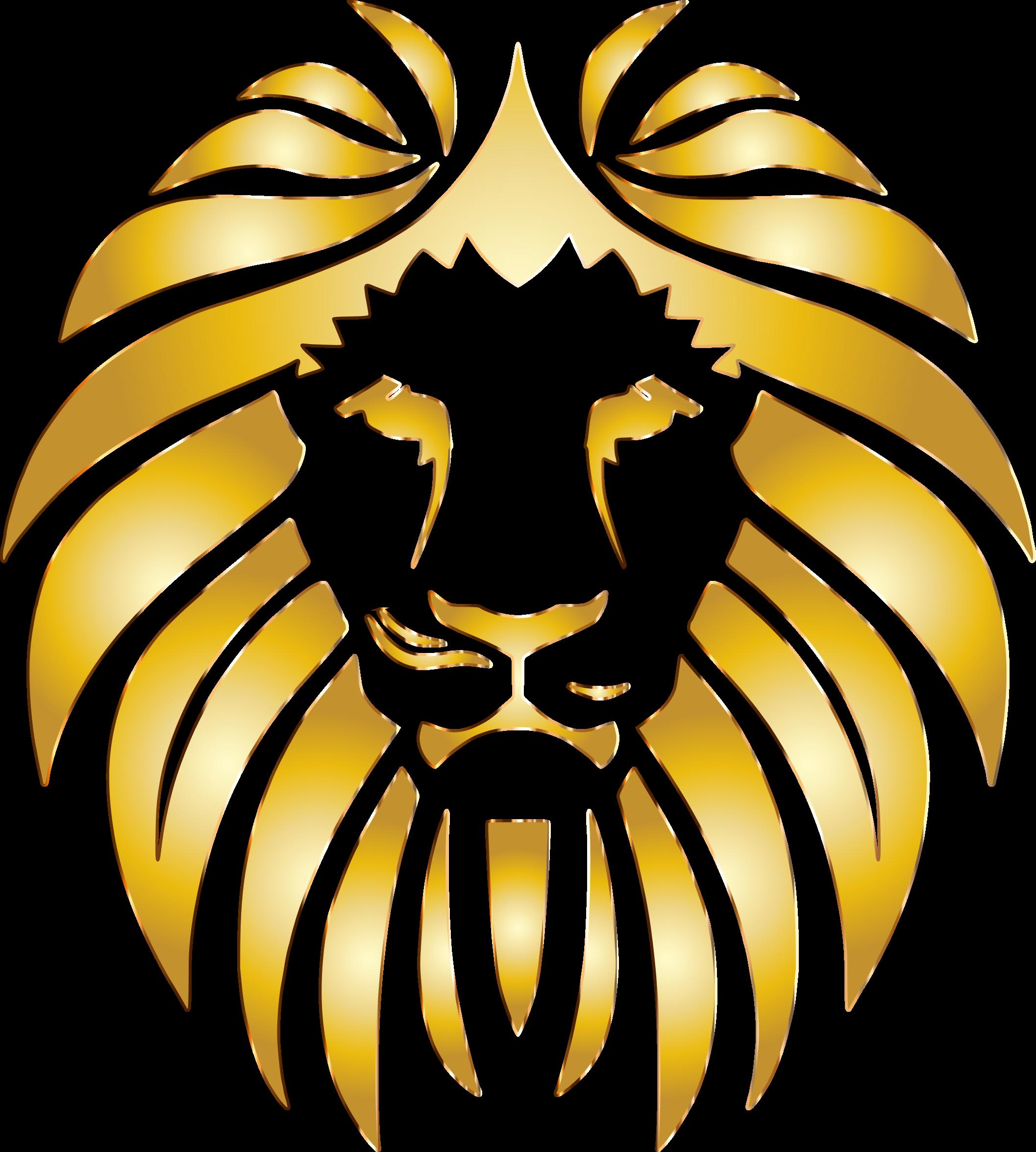 Lion golden lion