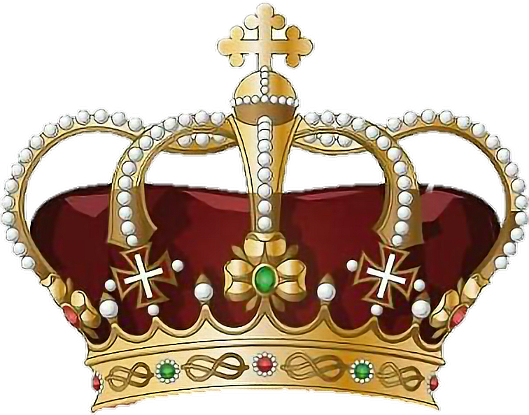 King big prince princess. Queen clipart crown gold