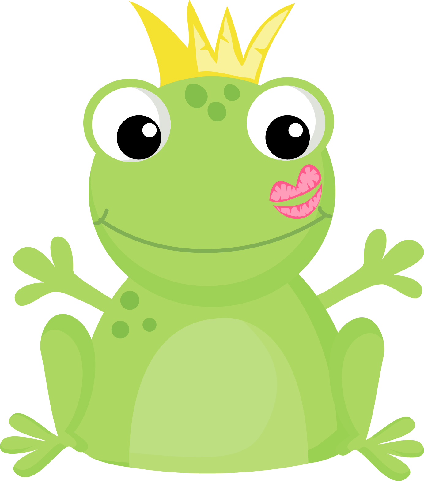 Toad prince pencil and. Clipart teacher frog