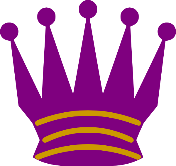 And gold queen clip. Clipart crown purple