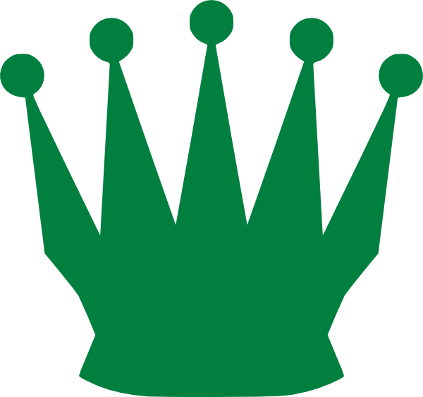 Queen clipart gambar. Green crown clip art