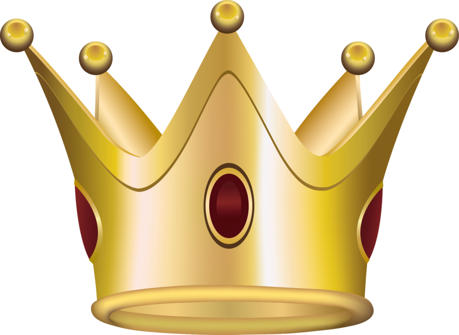 Gold png . Halo clipart crown
