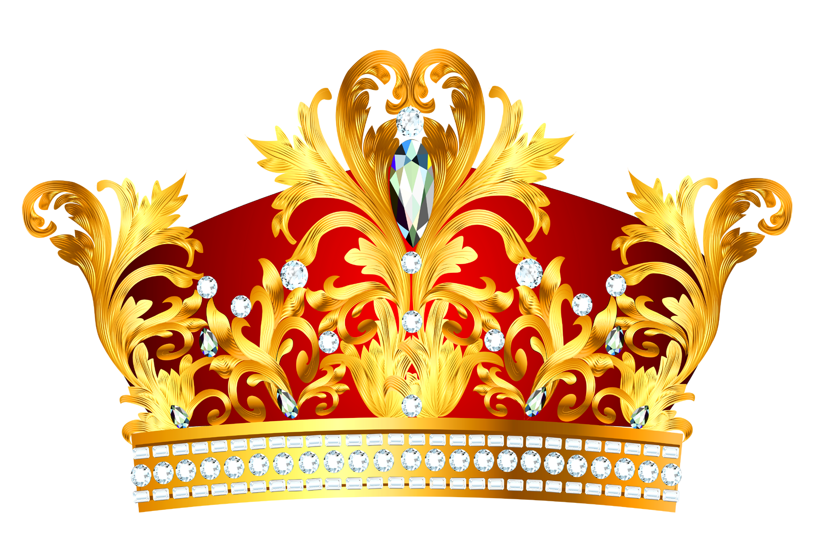 Crowns clipart rainbow. Crown transparent images free