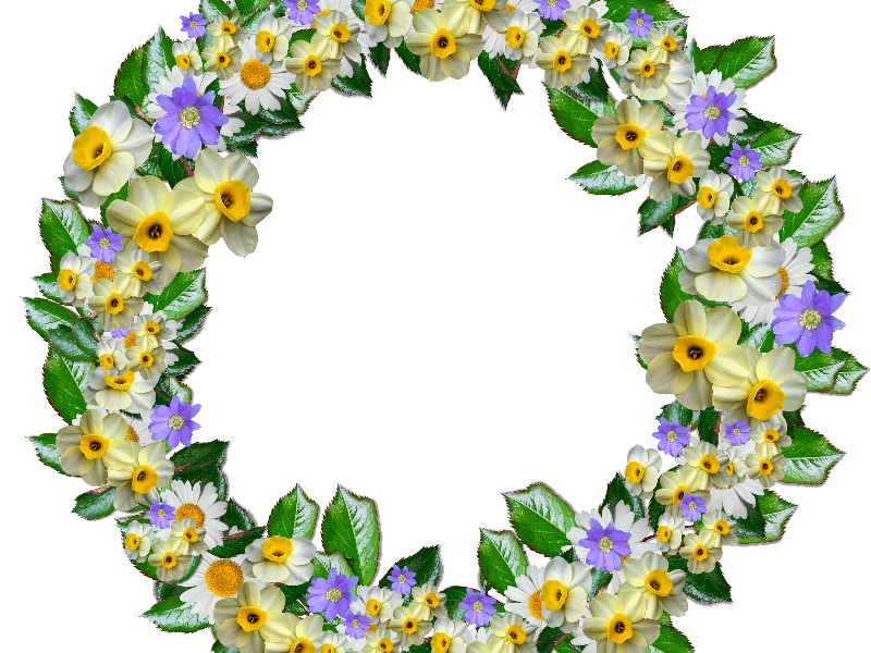 Real clipart free nature. Flower crown png transparent