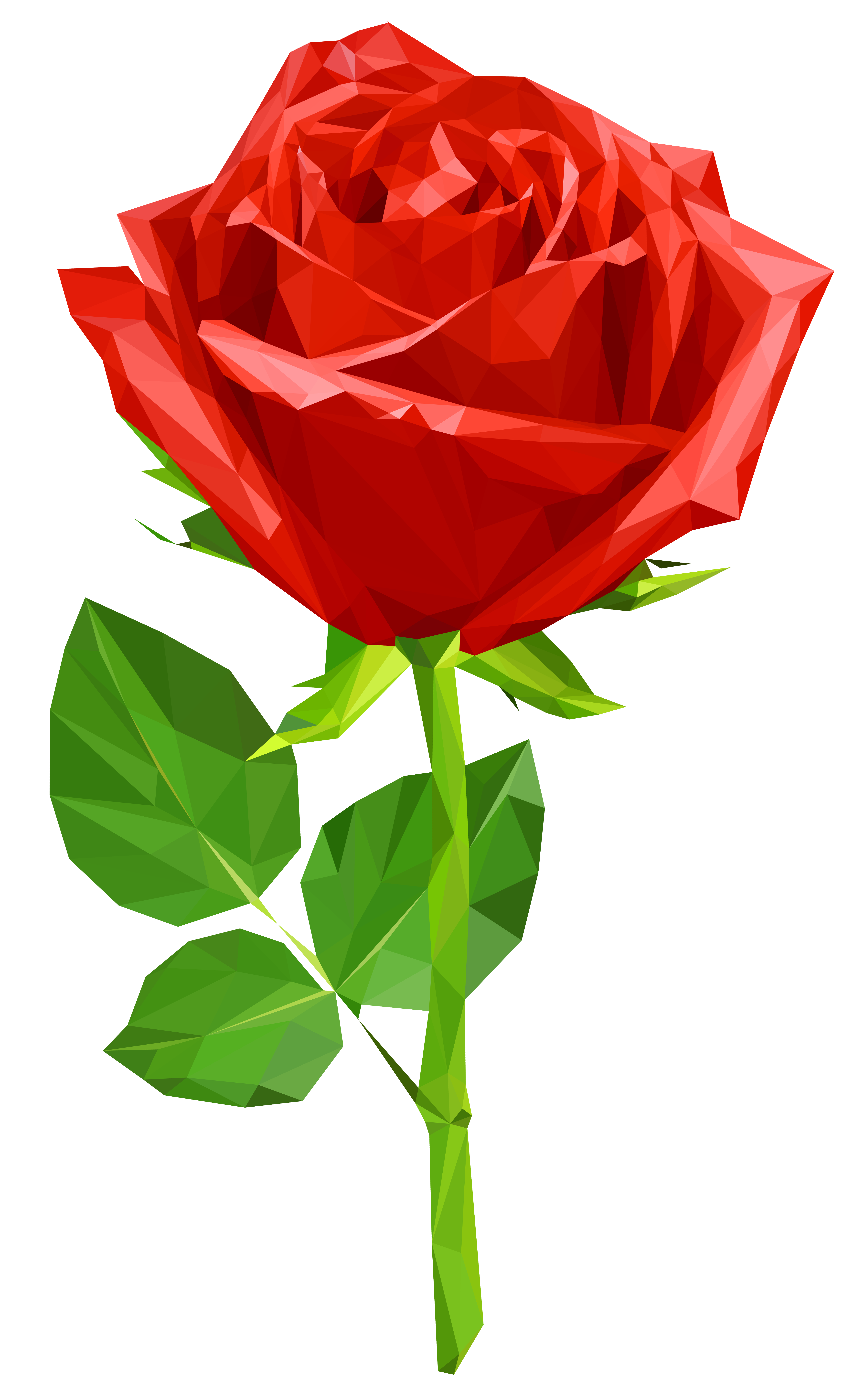 Crystal clipart green crystal. Red rose transparent png