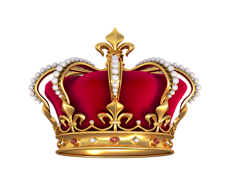 Queen clipart king background. Crown royal realistic free