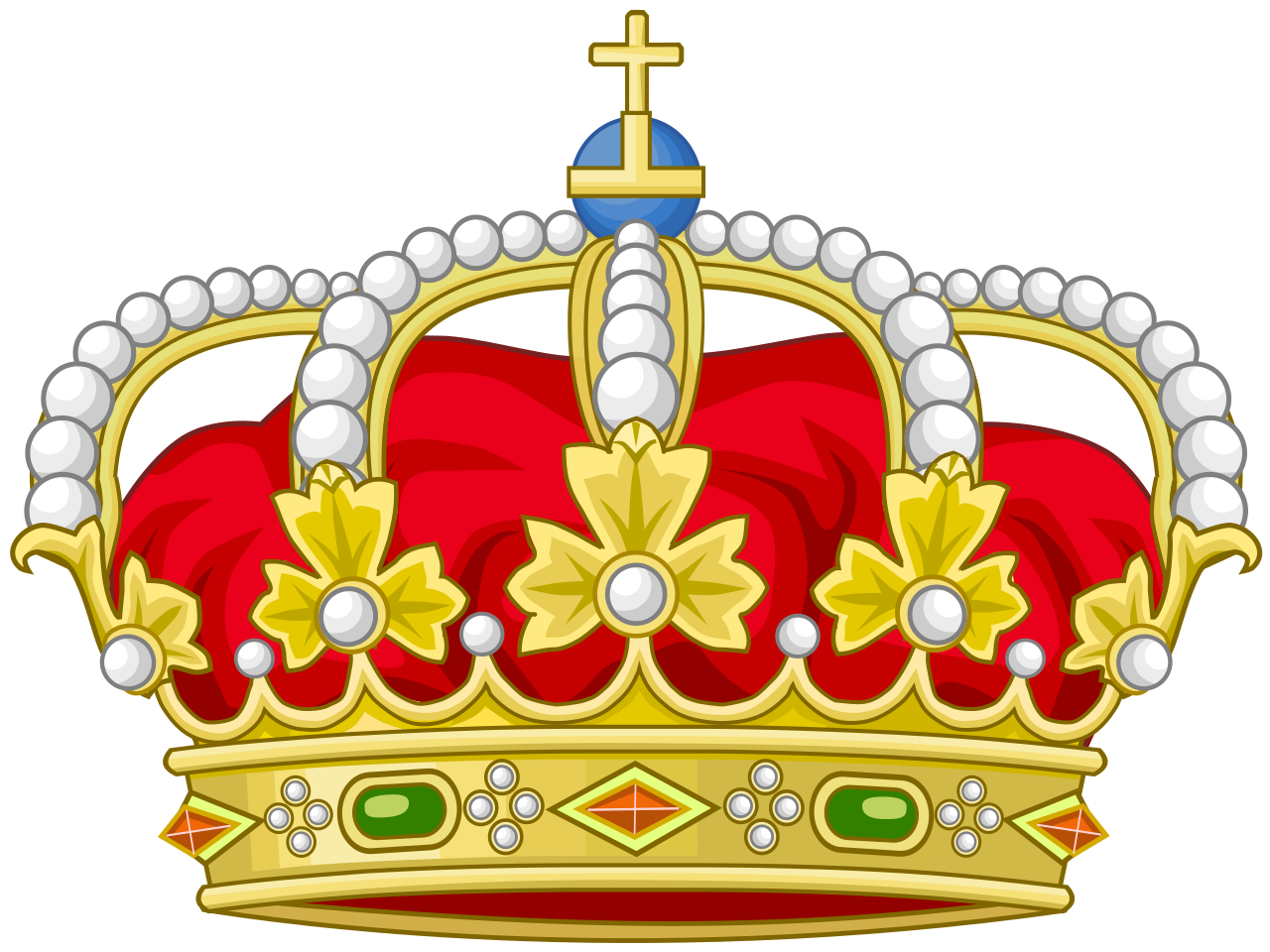 Queen clipart royal. File heraldic crown of