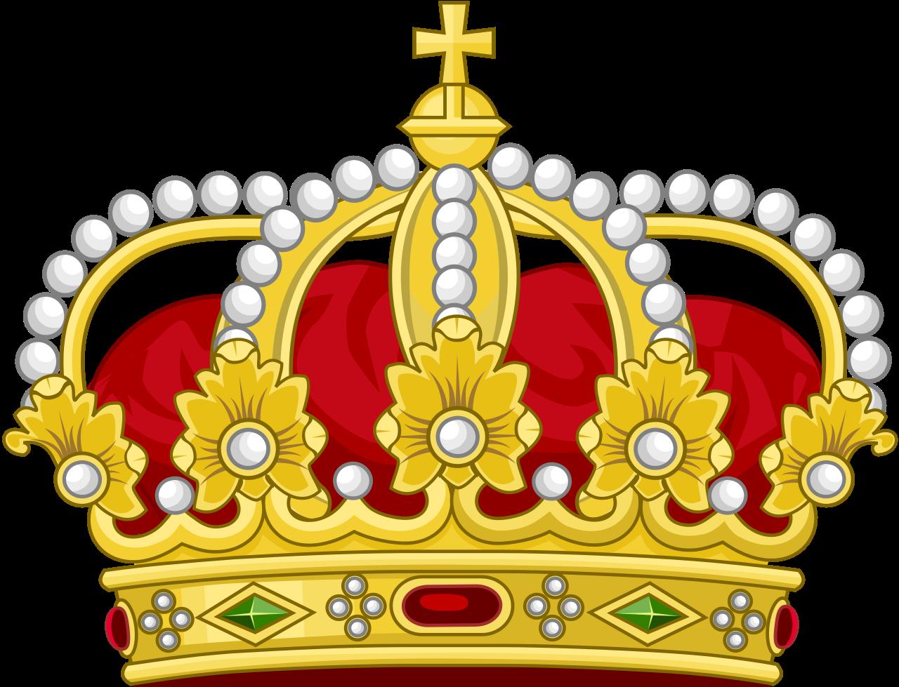 King clipart roman king. File heraldic royal crown