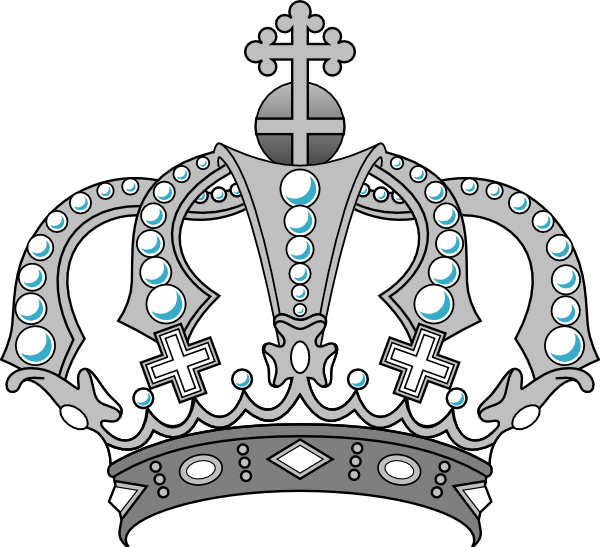 Number 1 clipart crown. Clip art at clker