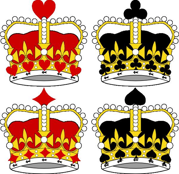 Crown clipart sceptre. Clip art at clker