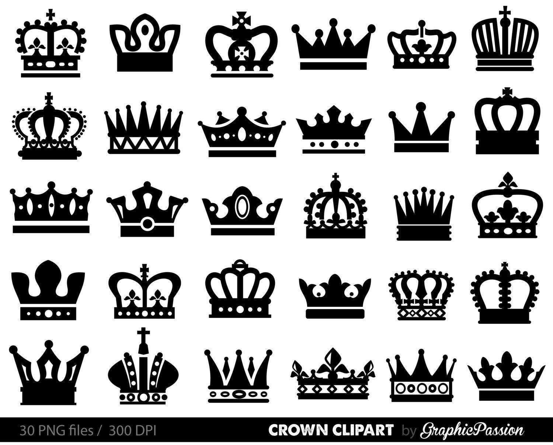 Clipart crown shadow. King queen clip art