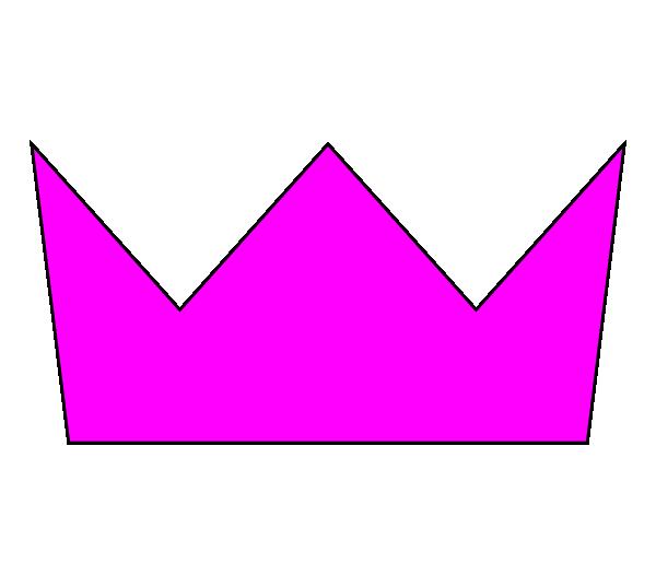 Crowns clipart simple. Pink crown clip art