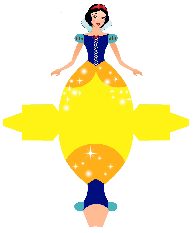Caixa vestido das princesas. Craft clipart dexterity