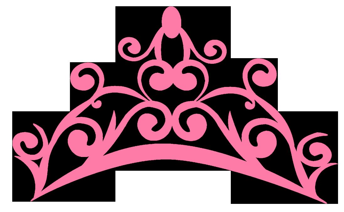 Coroa rosa png topper. Words clipart princess