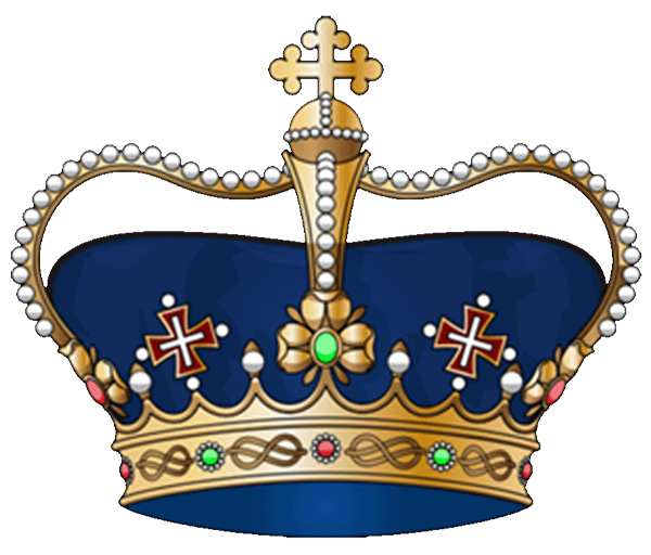 Royal clipart blue free. King crown vector png