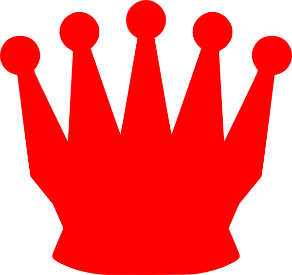 Crown clipart angel. Red clip art at