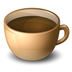 Clipart cup. Red coffee png image
