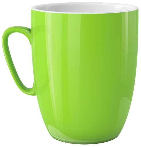 Clipart cup. Green png best web