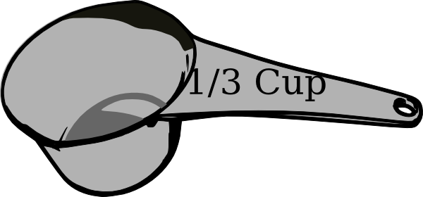 measuring clip art. Cup clipart 3 cup