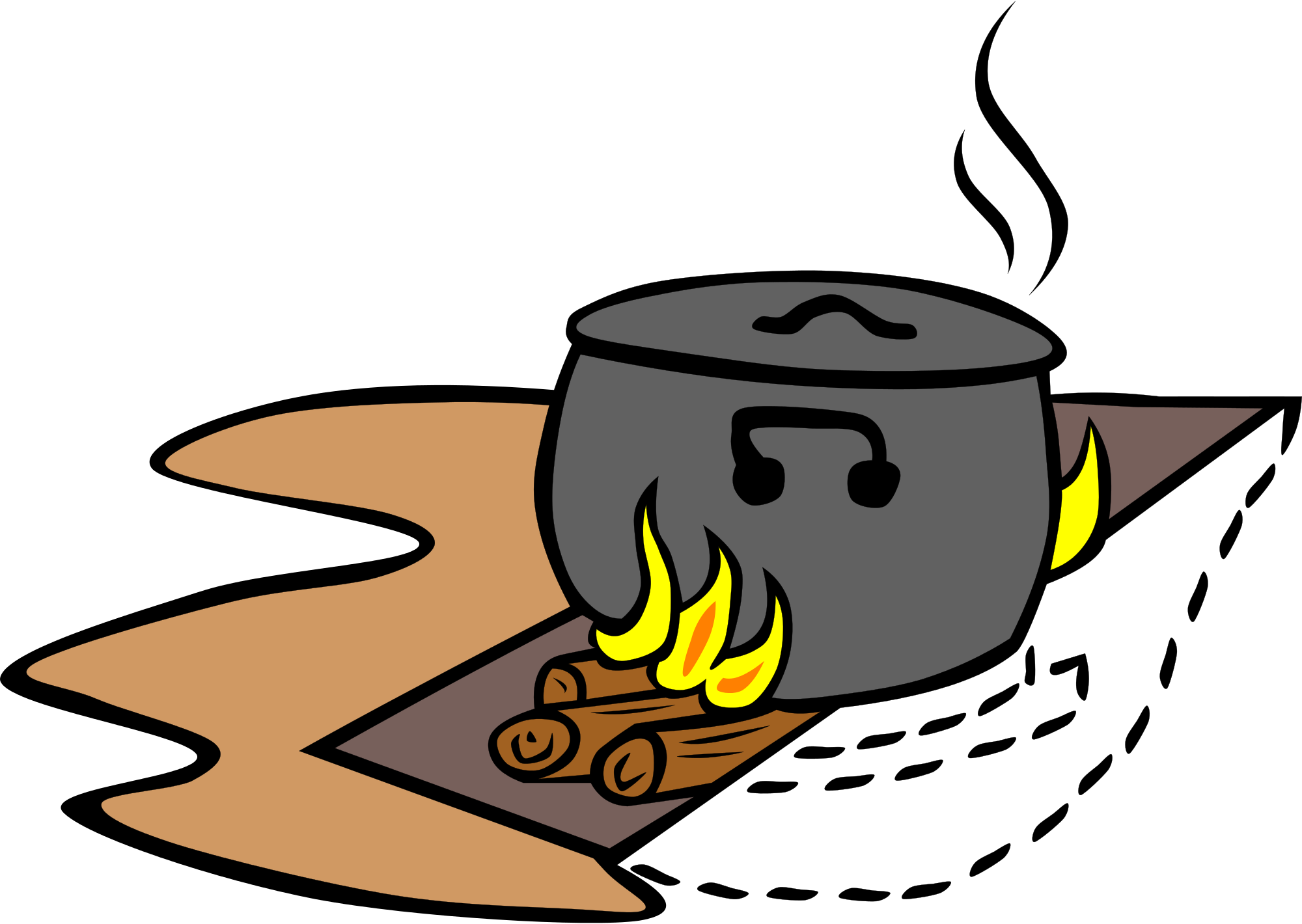 Cooking clipart outdoor cooking. File camp trench fire