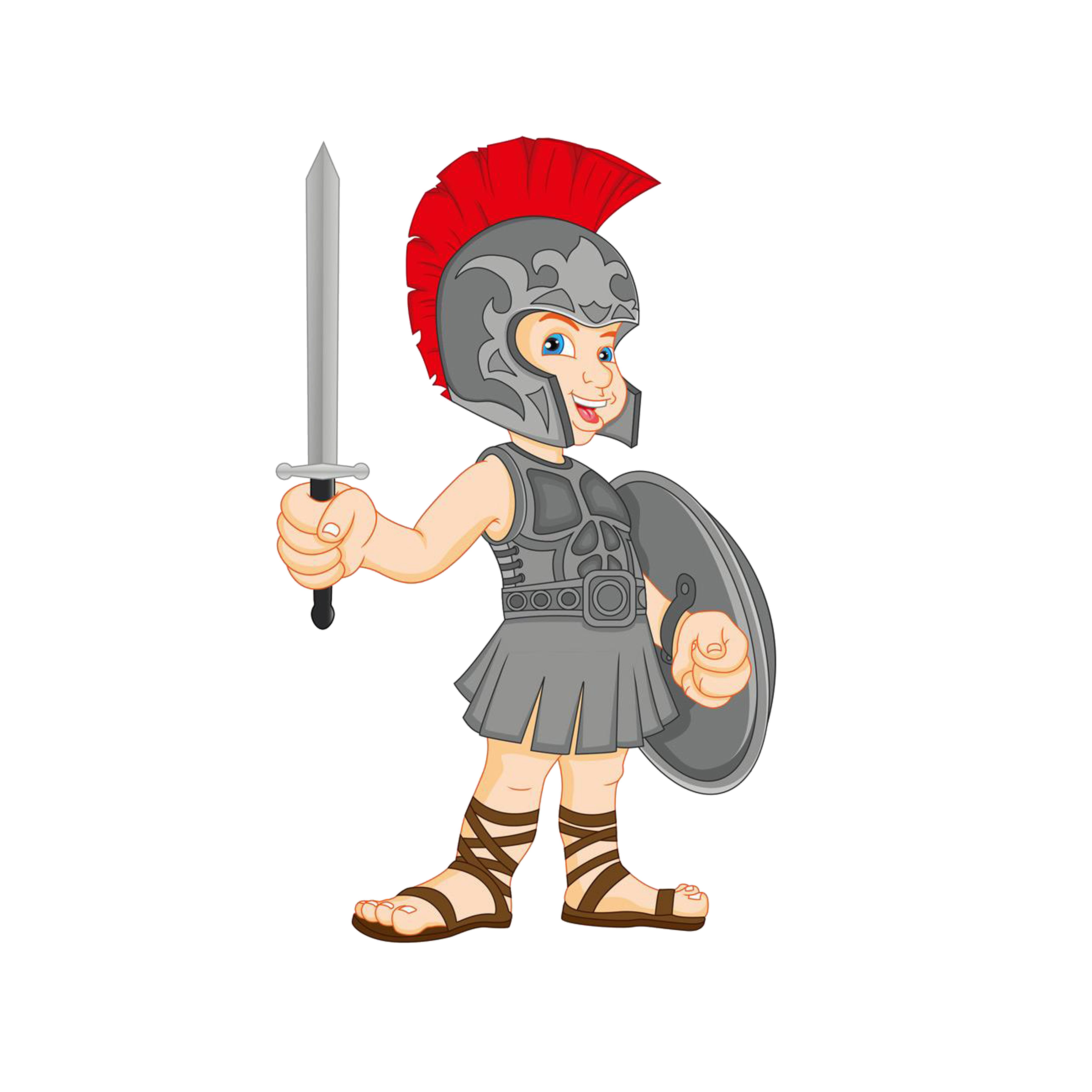 Gladiator royalty free clip. Greece clipart landmarks