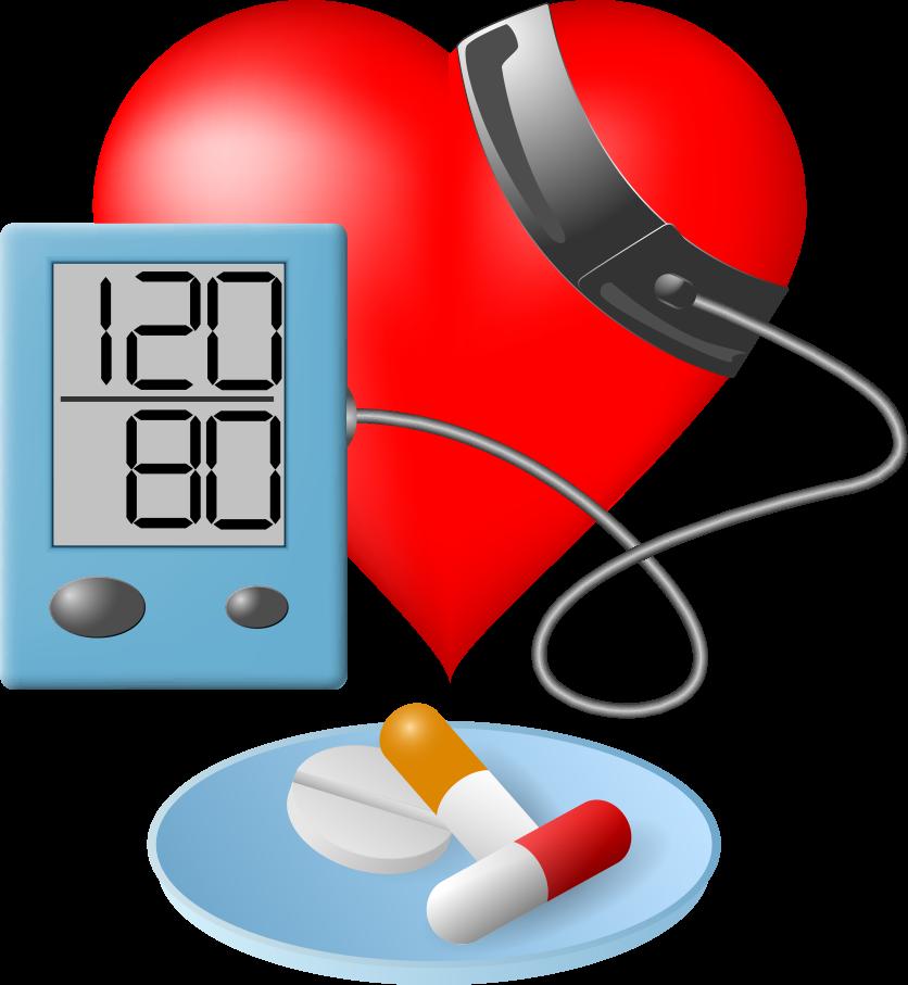 Pressure hypertension sphygmomanometer clip. Healthy clipart healthy blood